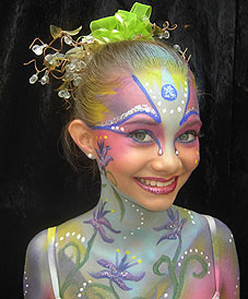 Facepainting Phantasie