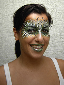 Facepainting Phantasiemaske